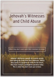 JWs and Child Abuse Front