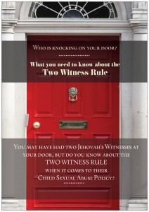 Two Witness Rule Front